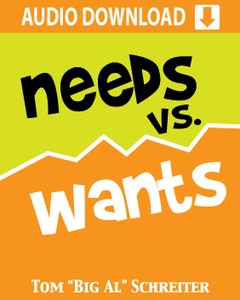 Needs VS. Wants Audio Download