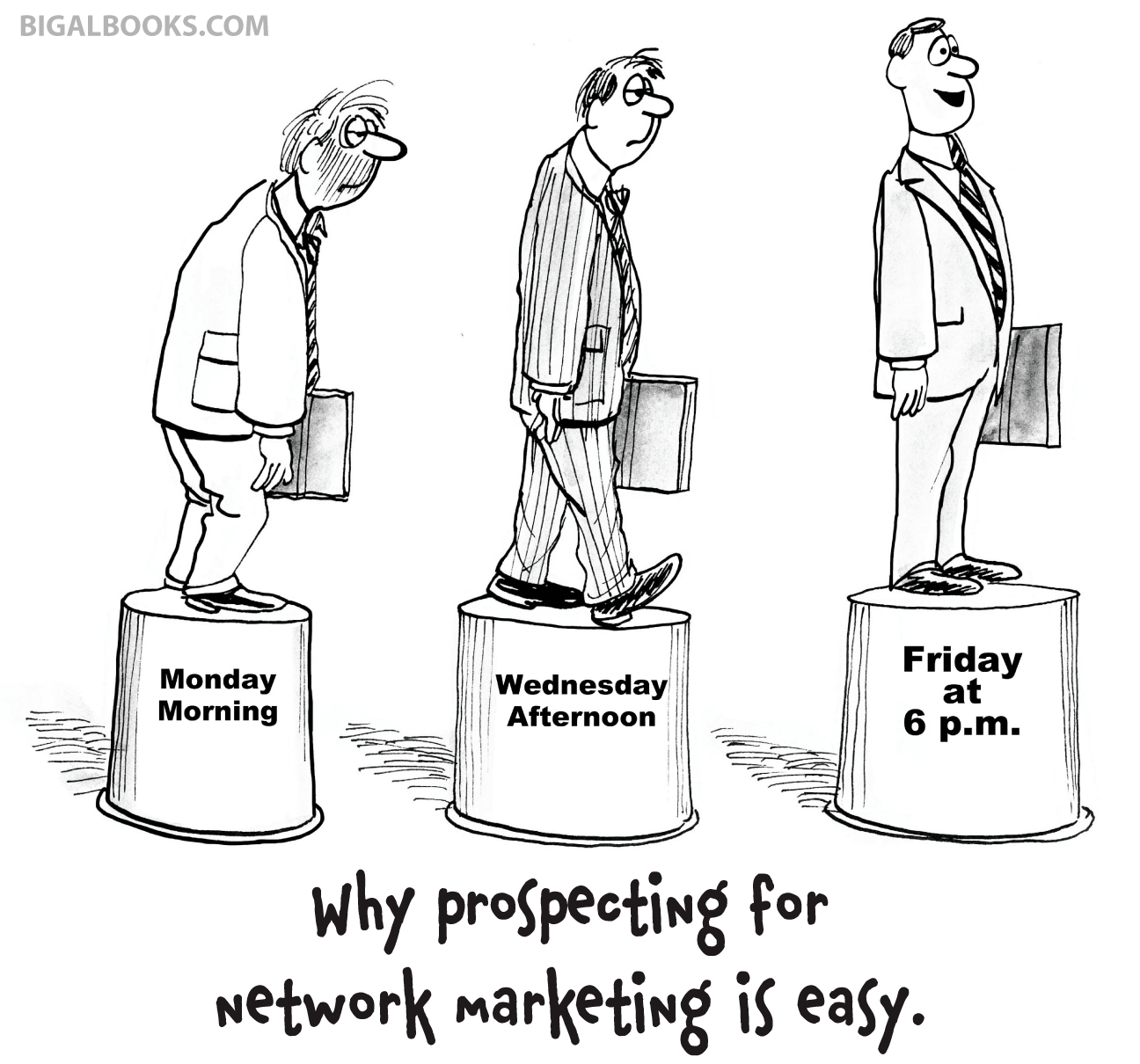 Network Marketing Humor: Finding Prospects...