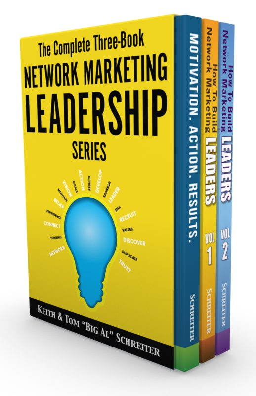 The Complete Three-Book Network Marketing Leadership Series